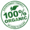 100% Organic Symbol
