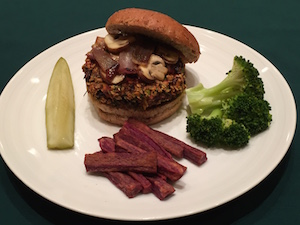 Engine 2 Diet NY Times Veggie Burger