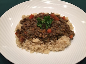 Vegan French Lentils
