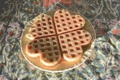 Vegan buckwheat & oat waffles