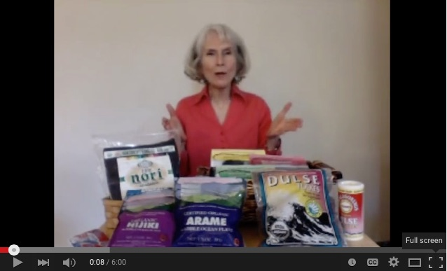 View Patricia Joy Becker's video talk on sea vegetables and seaweed.