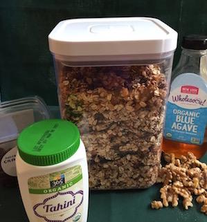 organic granola recipe